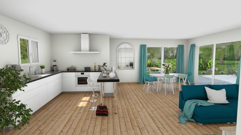 Maison neuve, 85 m² Rouqu…