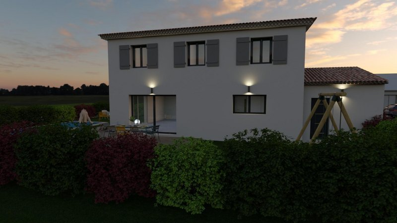 Maison neuve, 95 m² Bouc …