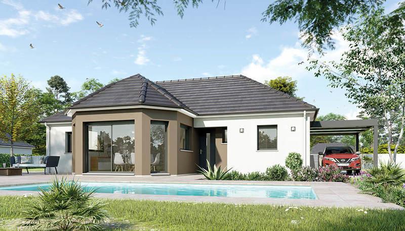 Maison neuve, 95 m² Les M…