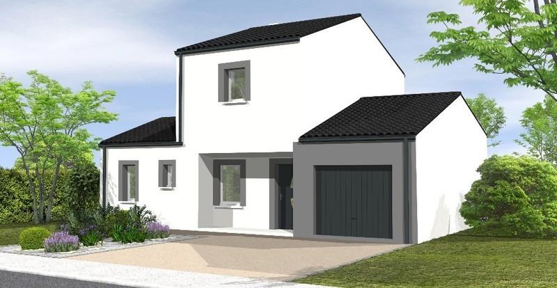 Maison neuve, 87 m² Conta…