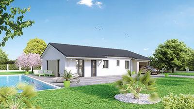 Maison neuve, 89 m² Décou…