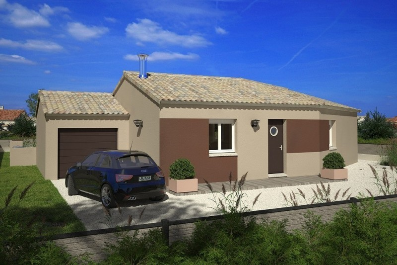 Maison neuve, 91 m² Longe…