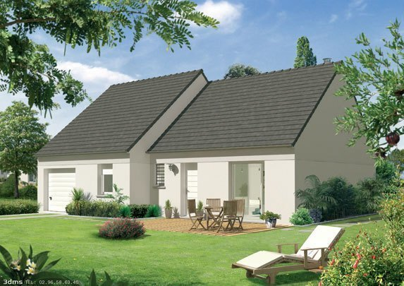 Maison neuve, 95 m² Terra…