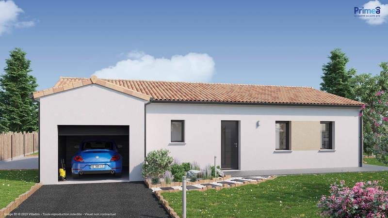 Maison neuve, 86 m² Envir…