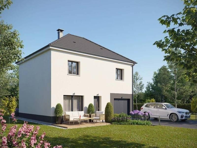 Maison neuve, 100 m² En ve…