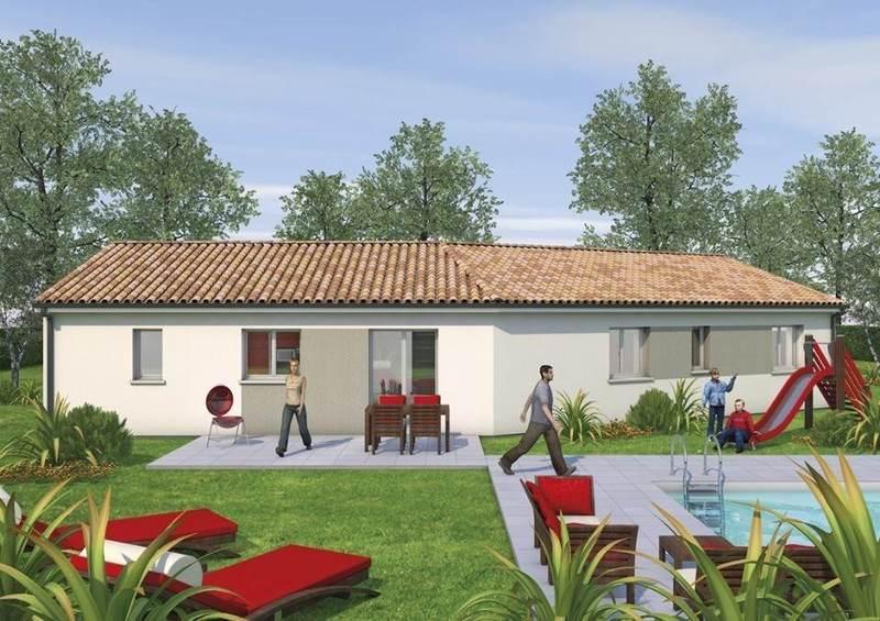 Maison neuve, 90 m² Eloig…