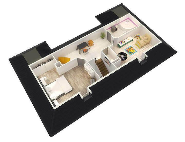 Maison neuve, 109 m² L'age…