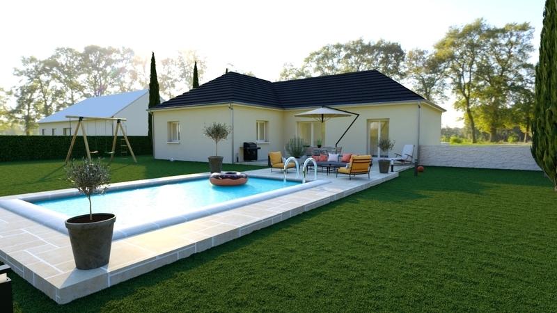 Maison neuve, 115 m² A seu…
