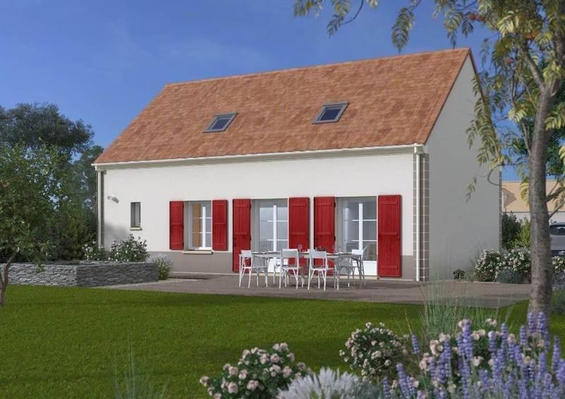 Maison neuve, 80 m² À Cré…