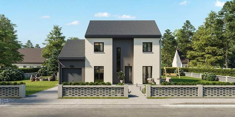 Maison neuve, 105 m² Rives…