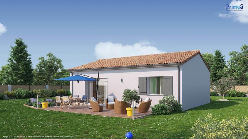 Maison neuve, 66 m² Terra…