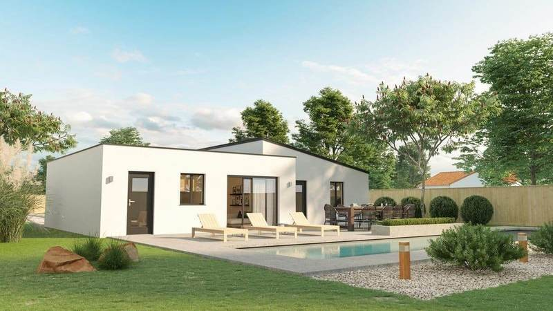 Maison neuve, 90 m² Dompi…