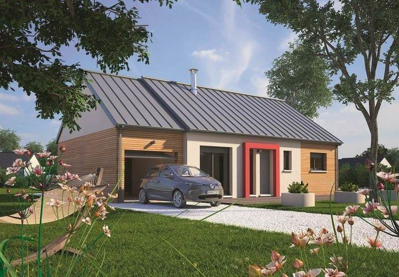 Maison neuve, 70 m² Sur l…