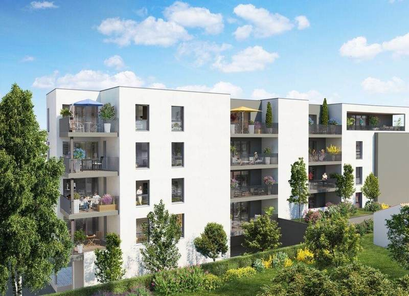 Appartement neuf, 88,88 m² - Qua…
