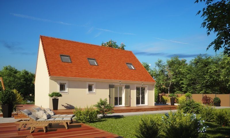 Maison neuve, 124 m² Situé…