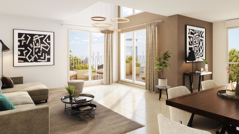 Appartement neuf, 49,9 m² Jusqu…