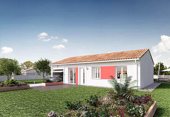 Maison neuve, 90 m² PROCH…