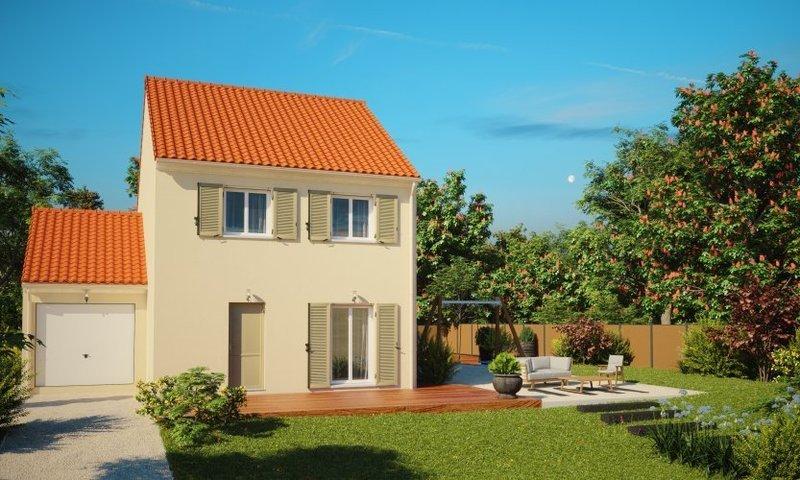 Maison neuve, 104 m² Ville…
