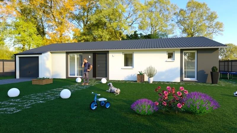 Maison neuve, 122 m² Idéal…