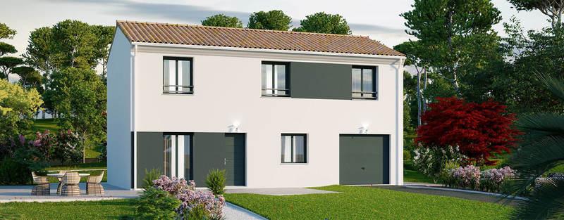 Maison neuve, 108 m² PROJE…