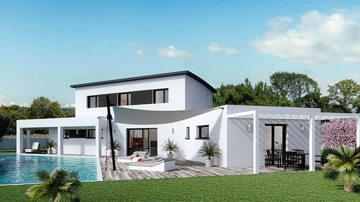 Maison neuve, 160 m² A 10 …