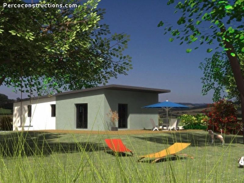 Maison neuve, 80,04 m² A Pon…
