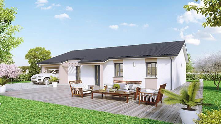 Maison neuve, 90 m² A seu…