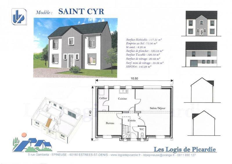 Maison neuve, 120 m² Vente…