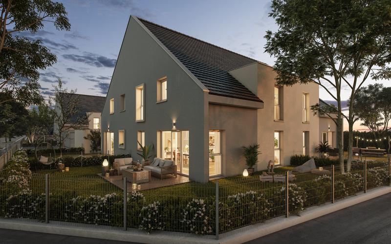Maison neuve, 90 m² Chois…