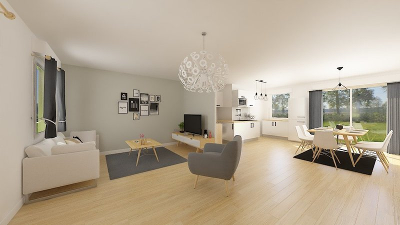 Maison neuve, 99 m² Laure…