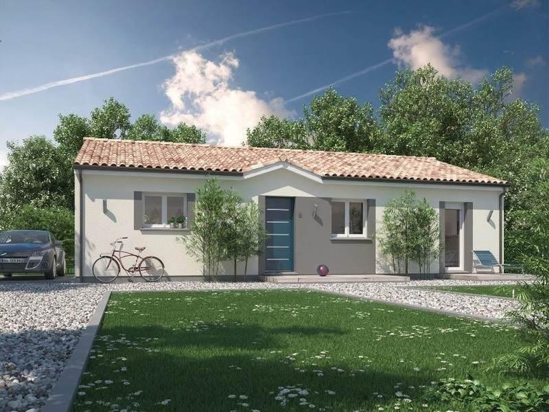 Maison neuve, 101 m² Le mo…