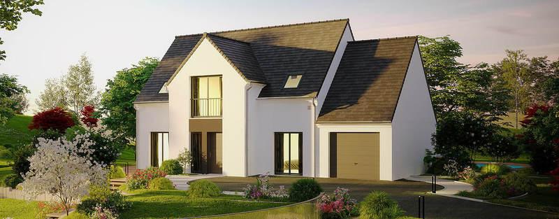 Maison neuve, 139 m² Au pl…