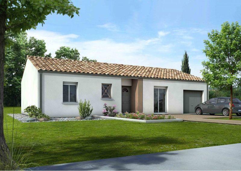 Maison neuve, 92 m² Idéal…