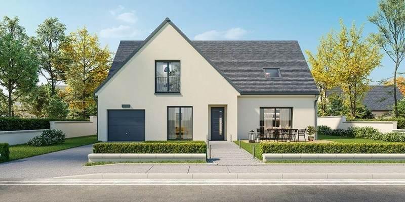 Maison neuve, 150 m² Immen…