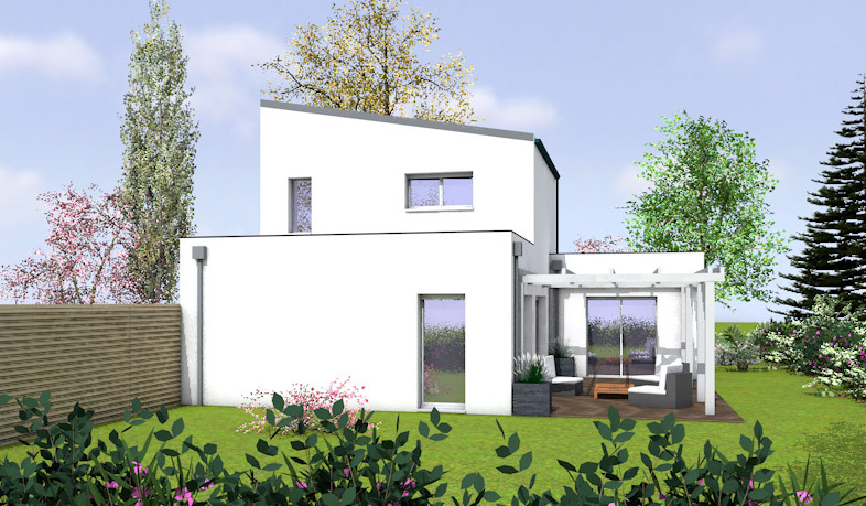 Maison neuve, 100 m² Idéal…