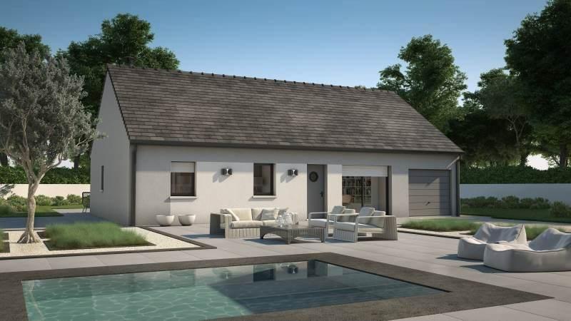 Maison neuve, 76 m² À Sai…