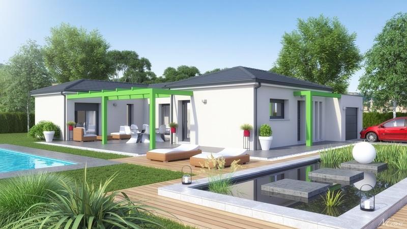 Maison neuve, 105 m² CHATE…
