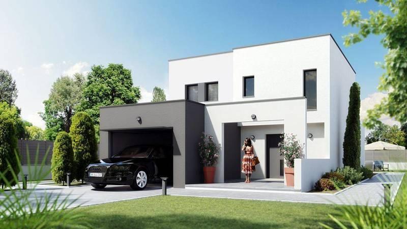 Maison neuve, 85 m² Porté…