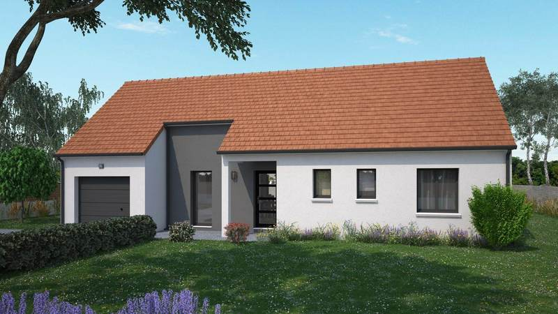 Maison neuve, 87 m² Magni…