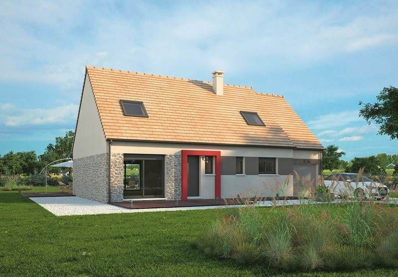 Maison neuve, 117 m² Daube…