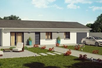 Maison neuve, 95 m² Beau …