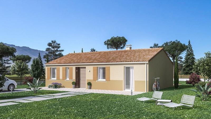 Maison neuve, 99 m² Prend…