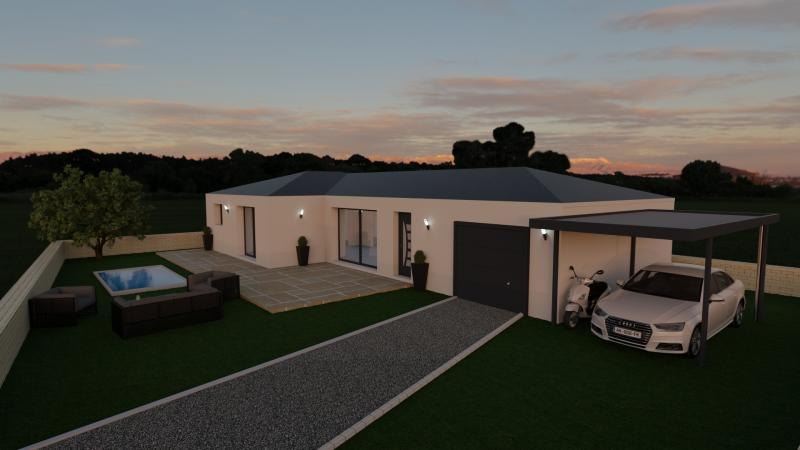 Maison neuve, 76 m² Magni…