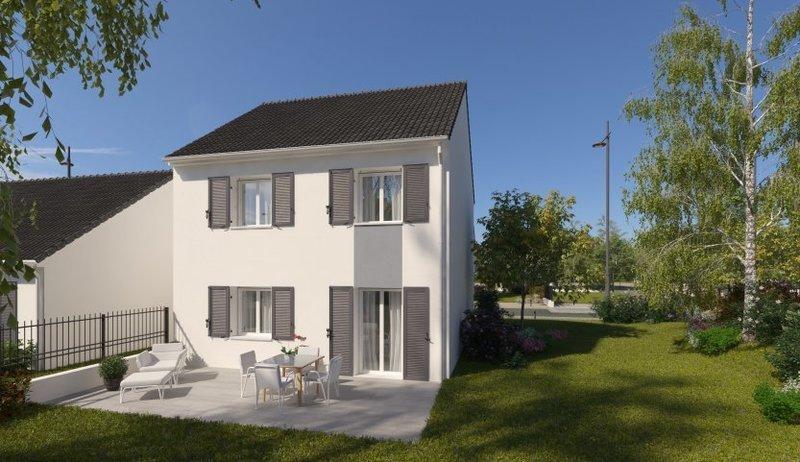 Maison neuve, 87 m² Situé…