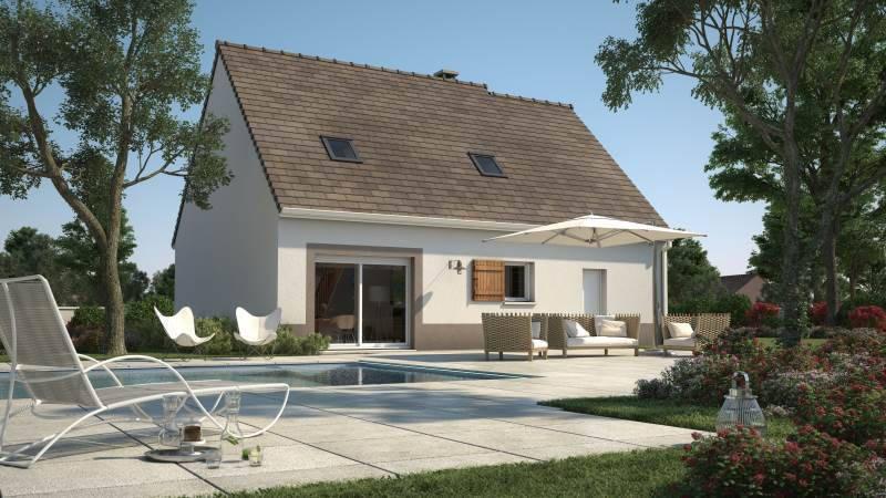 Maison neuve, 89 m² Dans …