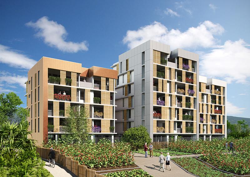 Appartement neuf, 58,1 m² La ré…