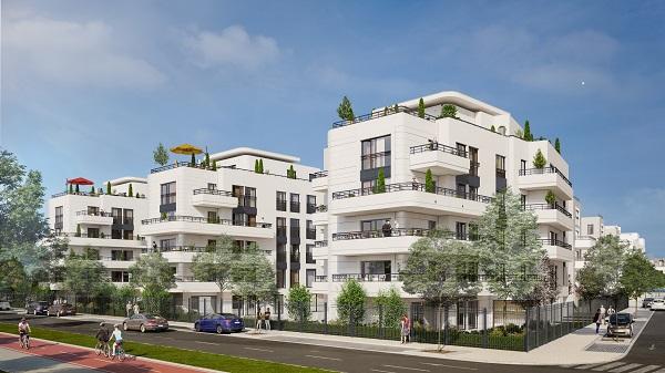 Appartement neuf, 77,75 m² Trava…