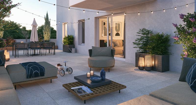 Appartement neuf, 42,65 m² Écono…