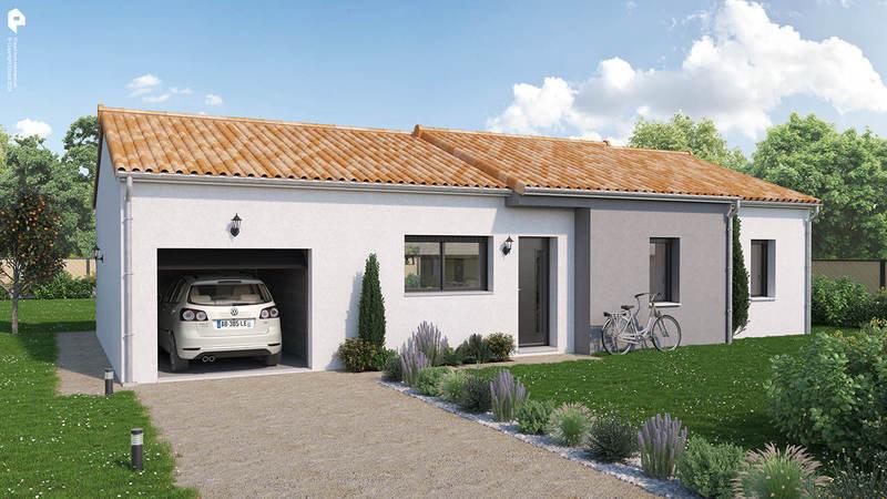 Maison neuve, 87 m² Idéal…