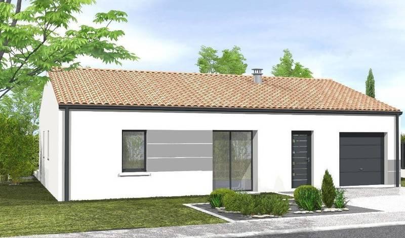 Maison neuve, 70 m² À Sai…